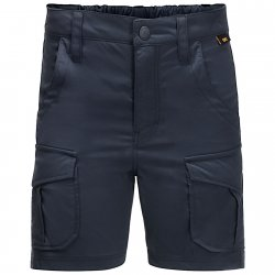 Jack Wolfskin Treasure Hunter bukser robust udendørs shorts med god stretch for børn.